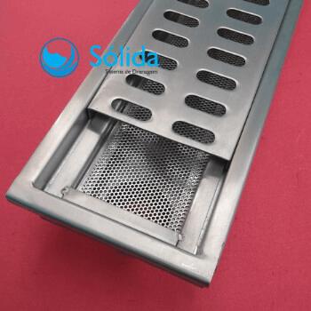 Fabricante ralo linear em aço inox
